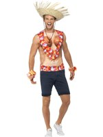 Adult Hawaiian Vest [43665]
