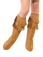 Adult Hippie Fringed Bootcovers [47452]