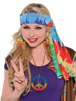 Adult Hippie Headscarf [840579-55]