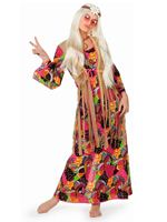 Adult Hippy Long Dress Costume