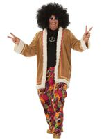Adult Hippy Long Jacket Costume [5456]