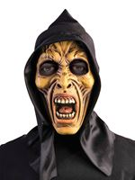 Adult Hooded Zombie Mask