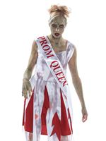 Adult Horror Prom Queen Costume