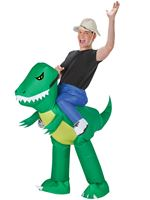 Adult Inflatable Dinosaur Rider Costume [59286]