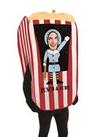 Adult Judy the Puppet Booth Costume