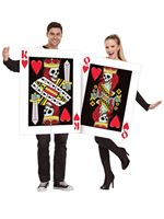 Adult King & Queen of Bleeding Hearts Couples Costume [131814]