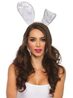 Adult Lace Bunny Ears Headband