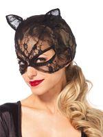 Adult Lace Cat Mask [3746]