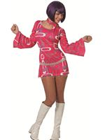 Adult Ladies 60s Hippy Dress Costume [6414]
