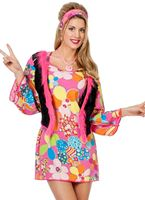 Adult Ladies Hippy Woodstock Costume
