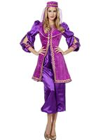 Adult Ladies Purple Oriental Bollywood Costume [4685]