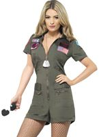 Adult Ladies Top Gun Aviator Costume [27084]
