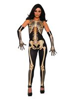 Adult Lady Bones Costume
