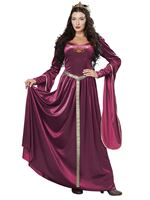 Adult Lady Guinevere Costume