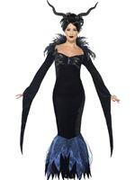 Adult Lady Raven Costume