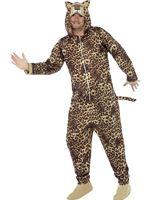 Adult Leopard Onesie Costume