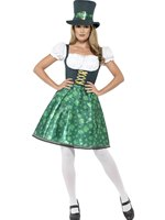 Adult Leprechaun Lass Costume