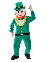 Adult Leprechaun Mascot Costume