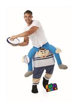 Adult Lift Me Up Rugby Player Costume