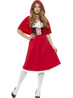 Adult Longer Length Red Riding Hood Costume