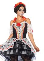 Adult Lovely Calavera Costume [85557]