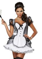 Adult Luxe French Maid Costume [01335]