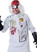 Adult Deluxe Mad Scientist Costume [11047]