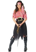 Ladies Pirate Maiden Costume