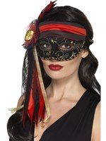 Adult Masquerade Pirate Mask [44953]