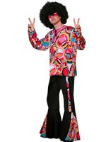 Adult Mens Disco Popart Costume