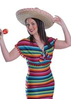 Adult Mexican Lady Costume [AC527]