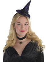 Adult Mini Witch Hat Headband