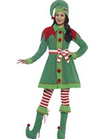 Adult Miss Elf Costume [46129]