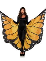 Adult Monarch Butterfly Cape [A2782]