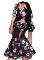 Adult Mrs Day of the Dead Costume [79078]
