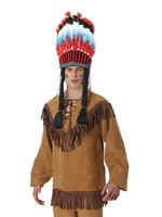 Adult Native American Fringe Shirt