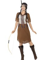 Adult Native Western Warrior Princess Costume