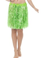Adult Neon Green Hawaiian Hula Skirt