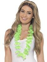 Adult Neon Green Hawaiian Lei