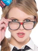 Adult Nerd Chick Glasses