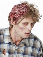 Adult No Brainer Zombie Wig [60238]