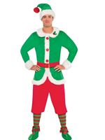Adult North Pole Guy Elf Costume