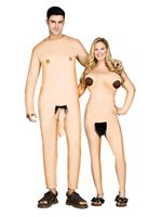 Adult Nudists Couple Costume [133484]