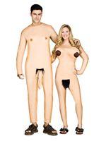 Adult Nudists Couple Costume [133484]