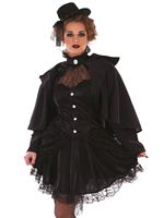 Adult Victorian Widow Costume [FS3798]