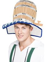 Adult Oktoberfest Beer Barrel Hat [21796]