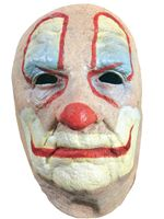 Adult Old Clown Face Mask