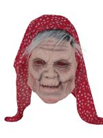 Adult Old Lady Mask with Headscarf [BM524]