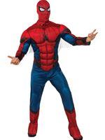 Adult Padded Spiderman Costume