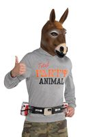 Adult Party Jackass Costume